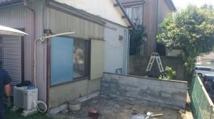 トタン倉庫解体5